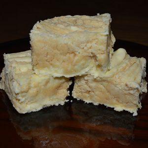 Creamy Banana and Peanut Butter Fudge